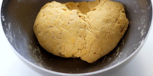poori recipe after kneading dough