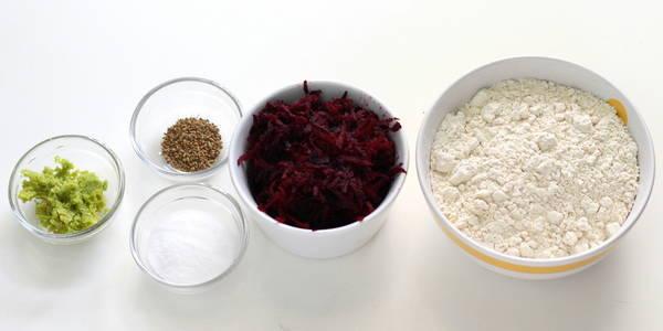 beetroot puri ingredients