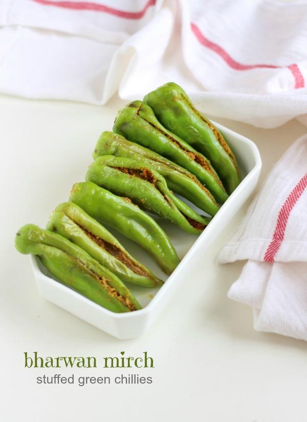 bharwan mirch recipe besan bharwa mirchi