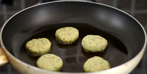 falafel recipe shallow fry