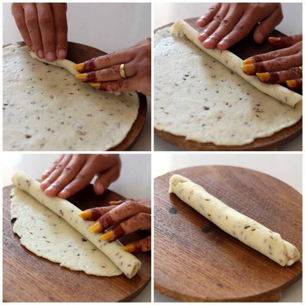 farsi puri recipe roll to make puri