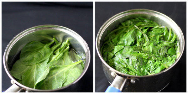 palak paneer recipe blanch palak