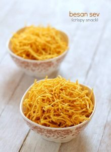 sev recipe crispy besan sev step by step
