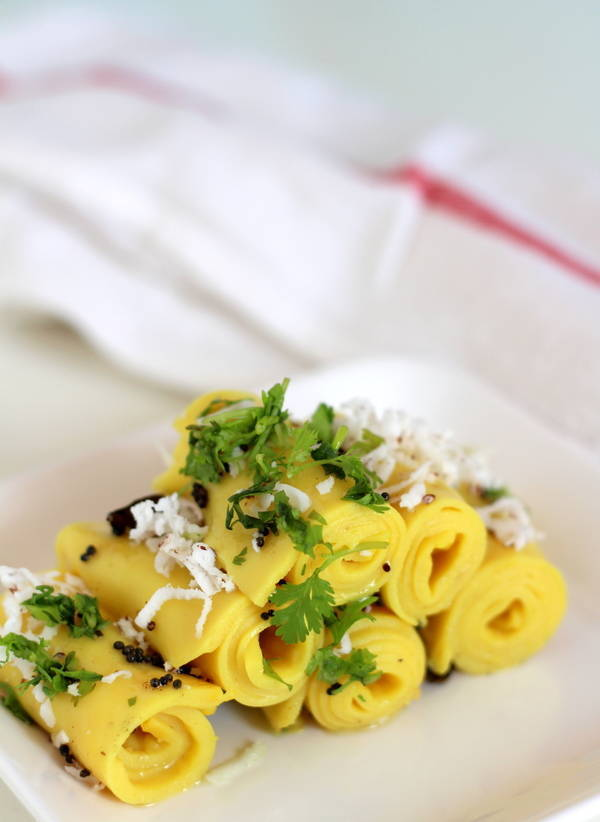 khandvi recipe gujarati patudi recipe