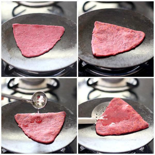 beetroot paratha cook
