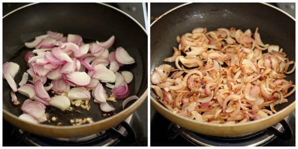 paneer kali mirch cook onion