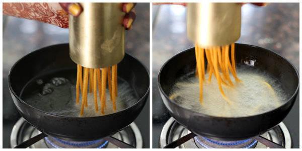 tikha gathiya recipe making gathiya