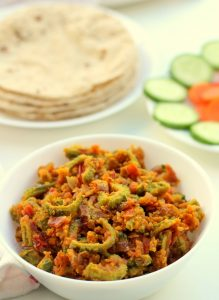 basen karela recipe