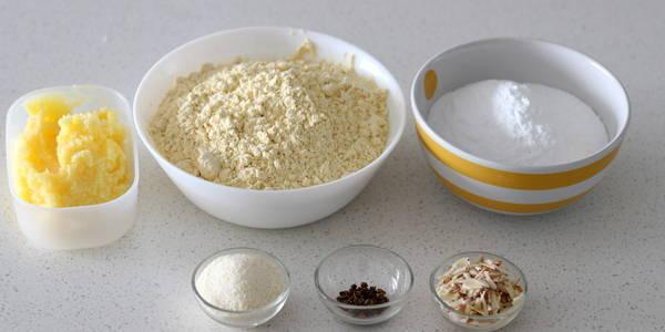 besan ladoo recipe ingredients