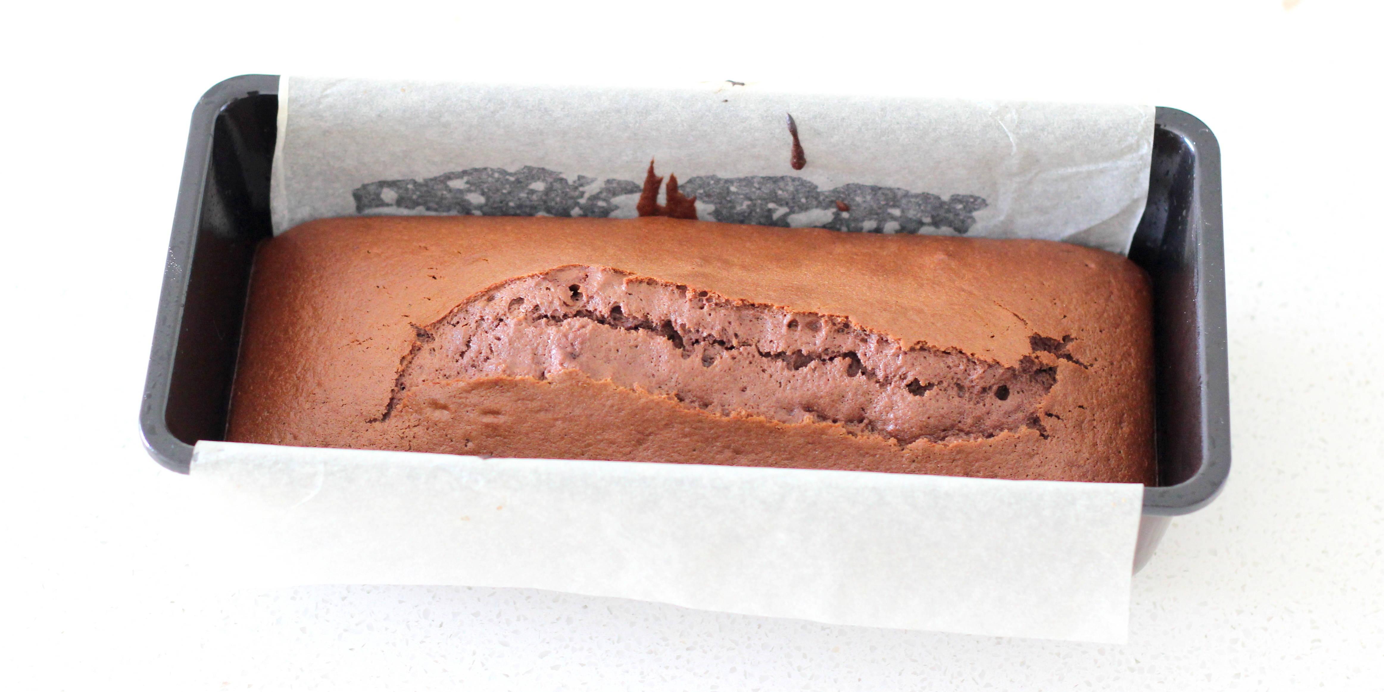 chocolate pound cake step 13