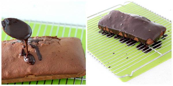 chocolate pound cake step 14