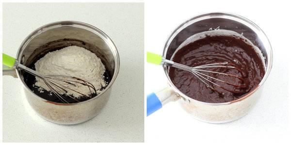 chocolate pound cake step 7