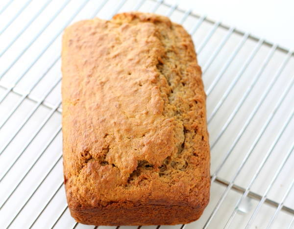 eggless banana cake recipe ready
