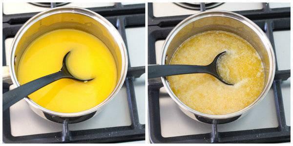 ghee recipe after melting