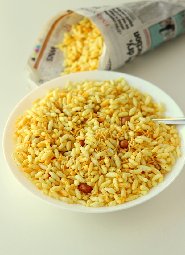 masala puffed rice recipe