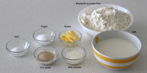 pav recipe step 1