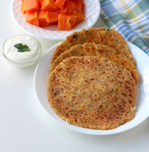 rajgira paneer paratha recipe