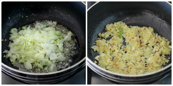 sabut masoor dal recipe add onion