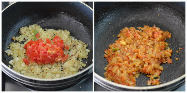 sabut masoor dal recipe add tomato