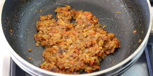 sabut masoor dal recipe gravy after cooking