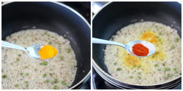 vaghareli bread recipe add turmeric