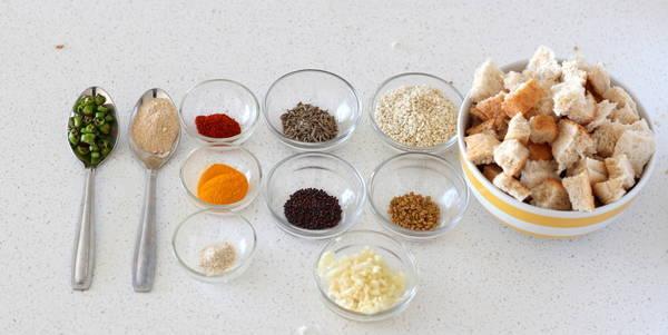 crispy fried bread recipe vaghareli bread recipe ingredients