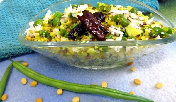 beans and coconut poriyal recipe