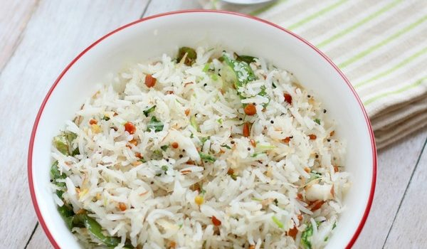 coconut rice recipe south indian coconut rice