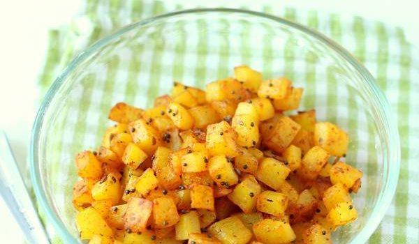 potato poriyal recipe south indian potato poriyal
