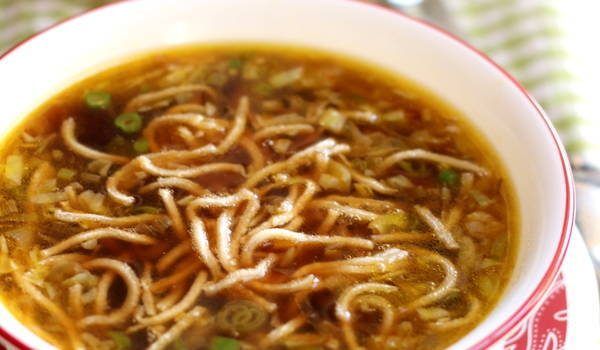 veg manchow soup recipe step by step